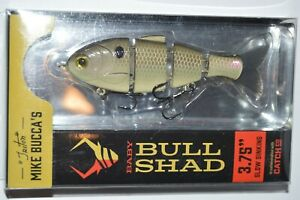 Catch co mike bucca#x27;s baby bull shad swimbait 3.75quot; slow sink gizzard shad