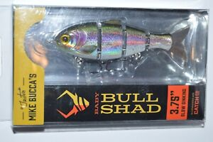 Catch co mike bucca#x27;s baby bull shad swimbait 3.75quot; slow sink rainbow trout
