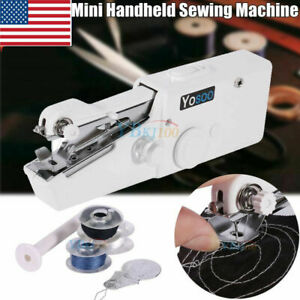 Mini Portable Smart Electric Tailor Stitch Hand held Sewing Machine Home Travel $5.41