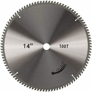 14quot; x 1quot; 100 Teeth Abrasives Saw Blade Cutting Blade $35.99