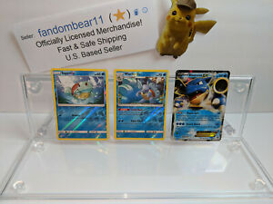 SQUIRTLE EVOLUTIONS HOLO COLLECTION 3 POKEMON CARDS SET WARTORTLE BLASTOISE $11.98