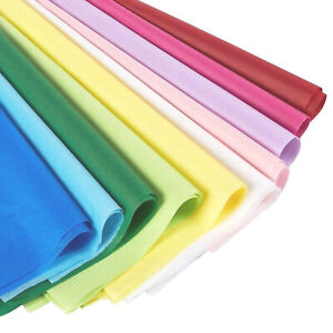 120 Pack Assorted Multi Color Gift Wrap Tissue Paper Wrapping Bulk Large 20x26