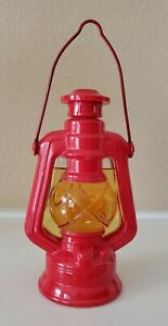 Vintage Avon RED COUNTRY LANTERN Bottle 4 OZ WILD COUNTRY AFTER SHAVE