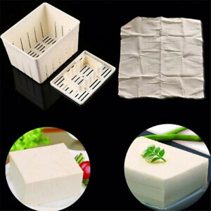 Plastic Tofuamp;Cheese Press Mold Maker Cutter Box DIY Pressing Mould Kitchen Tool $9.99