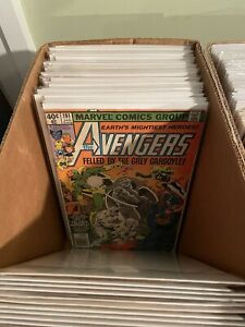 Lot of 15 DIFFERENT ALL AVENGERS Comic Books $29.95