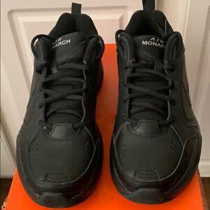 New Men#x27;s Trainning Shoes Air Mornach Black Size 14 Extra Wide FullBox