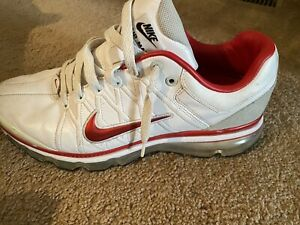 Men's Red White Nike Air Max size 10.5 $57.00