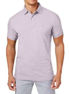 Tommy Hilfiger Mens Casual Shirt Lavender Purple Size XL Polo Rugby $49 138 $22.97