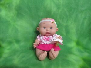 NINES D#x27;ONIL 10quot; BABY GIRL DOLL SPAIN VANILLA SCENT CLOTHES PACIFIER COLLECTIBLE