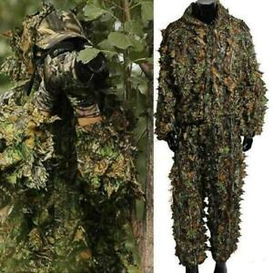 Hunting Clothes New 3d Maple Leaf Ghillie Bionic S