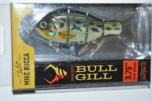 Catch co mike bucca#x27;s baby bull gill swimbait 3.75quot; slow sinking baby bass
