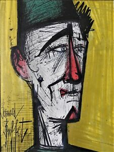 Bernard Buffet Jojo The Clown Original Lithograph w Collector#x27;s Guild COA $225.00