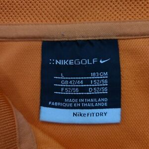 Lot of 2 Nike Dry Fit Golf Shirt Size Large $17.99
