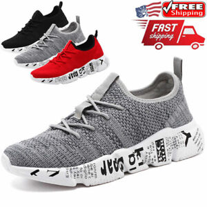 Mens Casual Sneakers Outdoor Sports Running Athletic Walking Tennis Shoes Gym $19.99