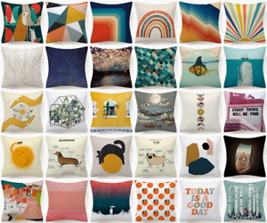 Cushion Cover Abstract Decorative Double Sided Sofa Bed Throw PILLOW CASE 18x18