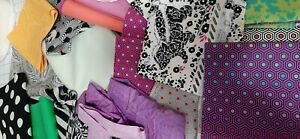 Tula Pink Fabric Scraps Pack 100% Cotton fabric lot More than 2 yards