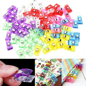 20PCS Plastic Quilter Holding Binding Wonder Clips Clamps Sewing Accessories C $2.83
