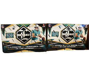 2020 panini football limited BoX $550.00