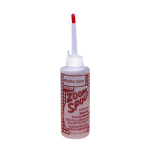 Zoom SPOUT Sewing Machine Oil Oiler 4FL. OZ. 118ml FREE SHIPPING $6.99
