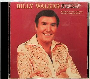 Billy Walker Greatest Hits on Monument CD 1993 The Best of Country Ramona GBP 8.27