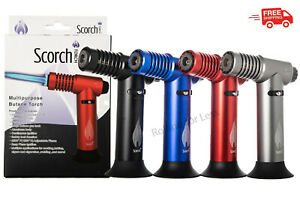 Scorch Torch Multipurpose Torch Easy Hand 45º Degree Single Flame Torch Lighter $21.99