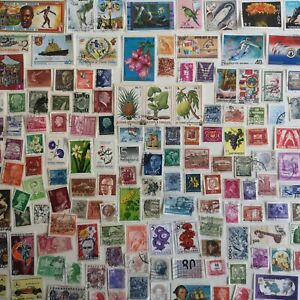 1000 Different Worldwide Stamps Collection GBP 10.00