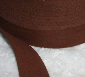 5 yards chocolate brown faux suede sewing belt strap trim 1.75quot; wide $4.46