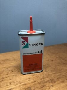 Vintage Singer Sewing Machine Oil Can. 4 oz. empty can $6.99
