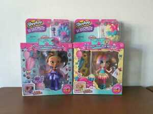 Already Hard to Find Shopkins Shoppies Doll Party Pop Up Cocolette And Popette