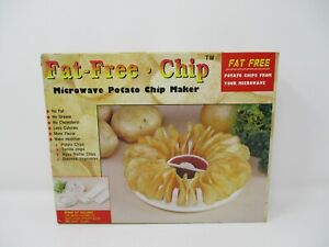 Fat Free Microwave Potato Chip Maker and Vegetable Steamer