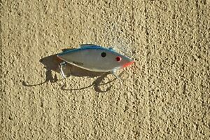 New Custom Fishing Rattle Trap Lures Crankbait 2.75quot; Floater silver