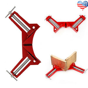 1pcs 4 Inch 90° Right Angle Mitre Corner Holder Clamp for Woodwork Picture Frame $8.49