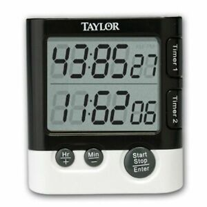 Taylor 5828 Dual Event Digital Timer and Clock