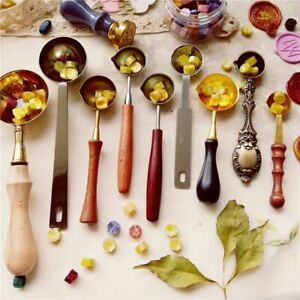 Sealing Wax Spoon Hot Melting Wax Spoons Wax Stamps Accessories Wax Seal Spoons $10.05
