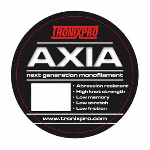 Tronixpro Monofilament Line 4oz Bulk spools in 12lb to 35lb in 3 Colours by Axia GBP 5.35
