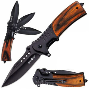 Foldable Best Camping Knife Hunting Dagger USA Free Ship Best Quality ECD Tool