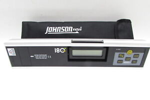 Johnson 40 6080 Electronic Level Inclinometer With Rotating Display 2845 $89.94