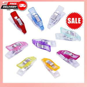 Plastic Mini Clips Wonder Sewing Holder 20 50Pcs Craft Clamps Knitting Clothing $5.39