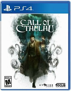 PLAYSTATION 4 PS4 CALL OF CTHULHU BRAND NEW SEALED $22.92
