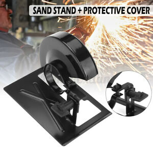 Metal Angle Grinder Cutting Machine Stand Holder Guard Shield Tools W Cove $12.22