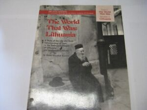The World That Was: Lithuania: A Study of the Life and Torah Conciousness of Jew $9.99