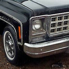 Chevrolet GMC Pickup amp; Suburban: 1979 1980 Right Metal Headlight Bezel $30.00