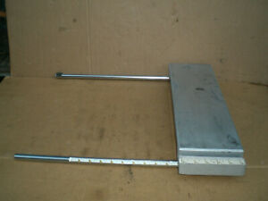 Craftsman Right Table Extension Wing amp; Slide Tubes $30.00