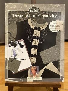 Sewing with Nancy Designed for Creativity Book Nancy Zieman Pattern Included $16.00