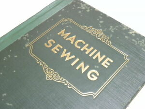 Rare 1948 Singer Machine sewing Book for Attachments Green HC Library Stock $168.75