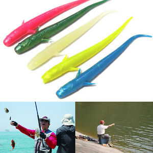 10X 70mm Silicone Lure For Fishing SoftBait Worm artificial Carp Fishing TacCACA