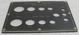 Capital Coin Custom Holder for 12 Piece U.S. Gold Liberty amp; Indian Type Set Used