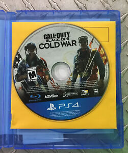 Call of Duty: Black Ops Cold War for Playstation 4 PS4 Game Disc Only $34.99