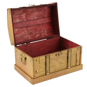 1pc Wooden Case Wooden Organizer Sundries Box Trinket Box Without Lock for Lady $30.32