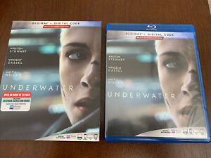 Underwater Blu Ray With OOP Rare Slipcover $17.99